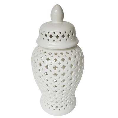 Woliung Ceramic Jar - Wayfair