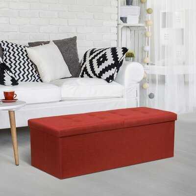 Cocchia Flip Top Storage Bench - Wayfair