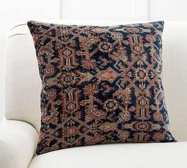 "Amaya Print Pillow Cover, 20"", Blue Multi - Pottery Barn"