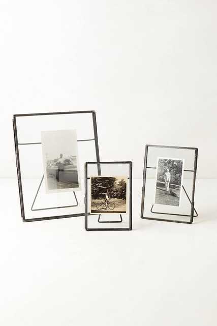 "5"" x 7"" Pressed Glass Photo Frame - Anthropologie"