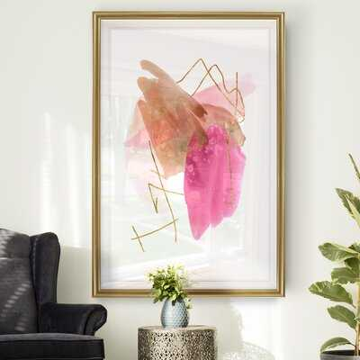 Rose Edge II' - Painting Print on Canvas - Wayfair
