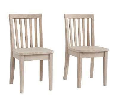 Carolina Play Chair Set of 2, Brushed Fog - Pottery Barn Kids