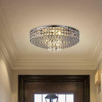 "Tallant 5 - Light 13.78"" Chandelier Style Drum Flush Mount - Wayfair"