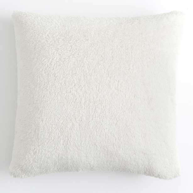 Recycled Cozy Euro Pillow Cover + Insert Set, Euro, Ivory - Pottery Barn Teen
