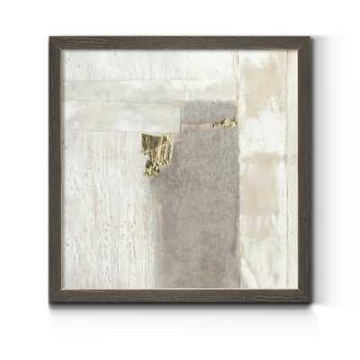 Neutral Gold II - Picture Frame Print on Canvas - Wayfair