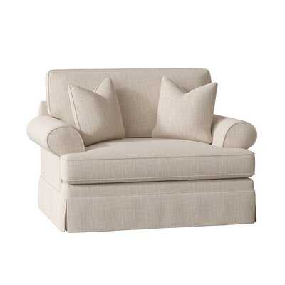 "Negley Big 34"" Chair and a Half - Wayfair"