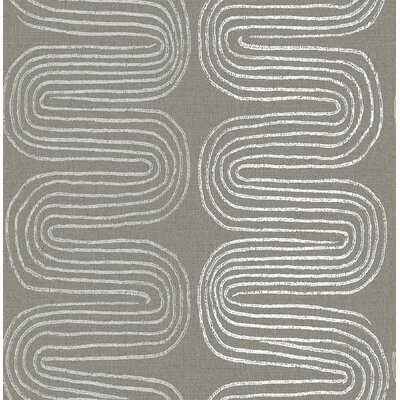 Bodine 33' L x 20.5'' W Smooth Wallpaper Roll - AllModern