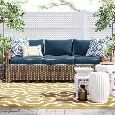 Lawson Patio Sofa with Cushions - Birch Lane
