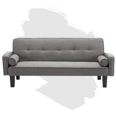 Futon Sofa Bed Couch, Convertible Folding Recliner Lounge Futon Couch For Living Room,Sleeper Couch With Premium Linen Upholstery And Plastic Legs - Wayfair