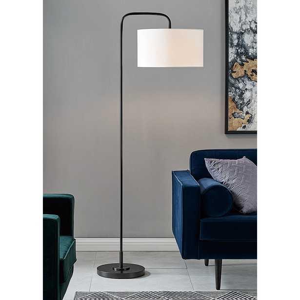 Lite Source Orea Black Metal Stem Floor Lamp - Lamps Plus