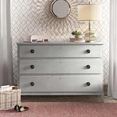 Mikah 3 Drawer Standard Dresser/Chest - Birch Lane