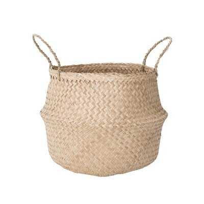 Medium Natural Basket - Wayfair