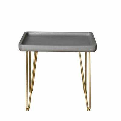 Safire Tray Top End Table - Wayfair