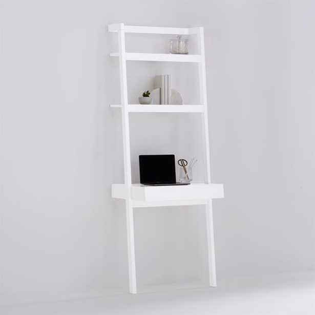 Sawyer White Desk - Crate and Barrel