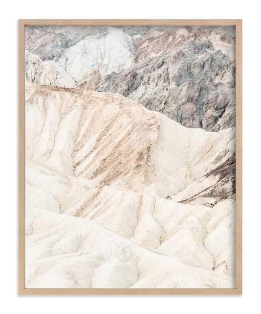 White Canyon Art Print - Minted