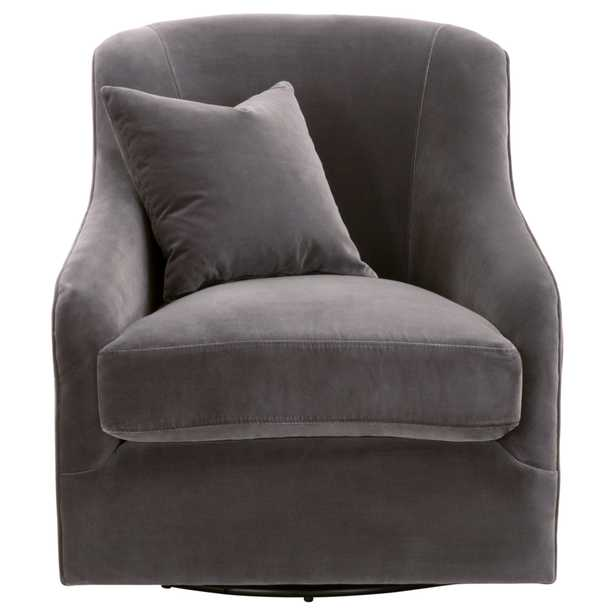 Mona Swivel Club Chair - Alder House