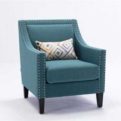 """Asiran 26.7"""" W Linen Armchair - Wayfair"""