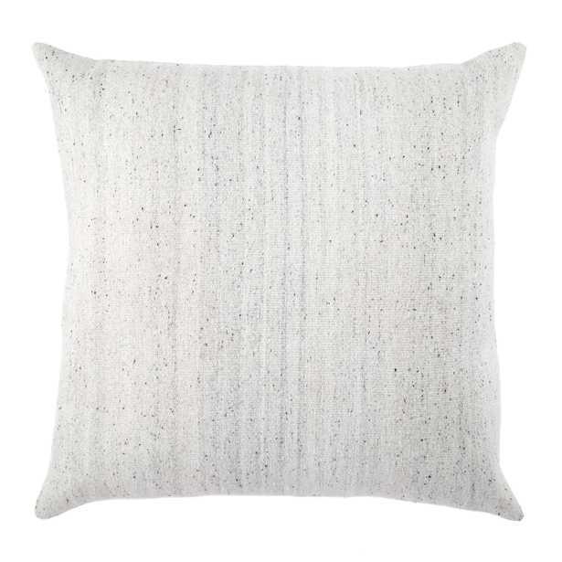 "Design (US) Light Gray 30""X30"" Pillow - Collective Weavers"