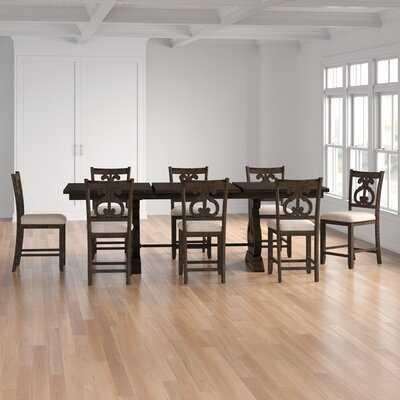 Kenworthy 9 Piece Extendable Dining Set - Wayfair