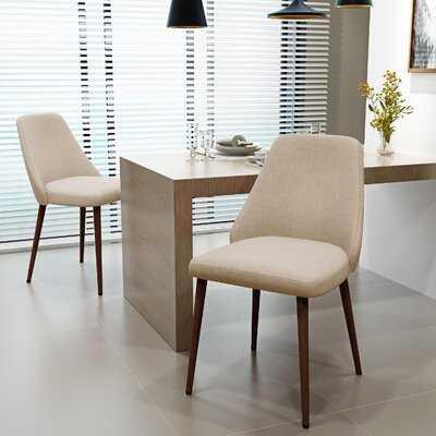Dodrill Mid Century Upholstered Dining Chair (set of 2) - Wayfair