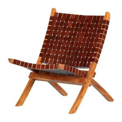 "Balka Woven 23.5"" Lounge Chair - Wayfair"