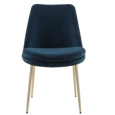 Blencoe Velvet Upholstered Dining Chair (Set of 2) - AllModern