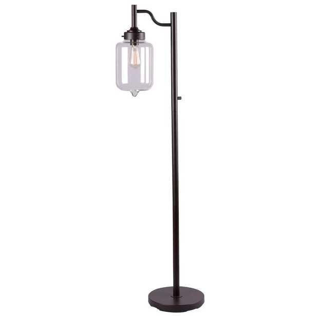 Kenroy Home Casey 57 in. Bronze Floor Lamp - Home Depot