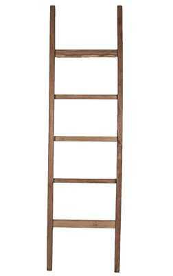Teak Straight 6 ft Blanket Ladder - AllModern