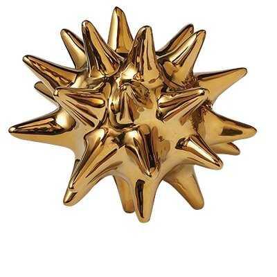 Chaidez Urchin Shiny Gold Object - AllModern