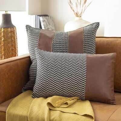 Henn Lumbar Pillow Cover - 13'' H x 20'' W x 0.25'' D - Wayfair