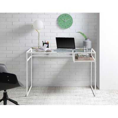 Dayhsaun Glass Desk - Wayfair