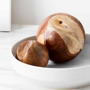 Teak Root Ball Decor, Set of 2 - West Elm