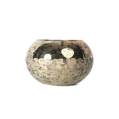 """Tews Silver 5.75"""" Indoor / Outdoor Glass Table Vase - Wayfair"""