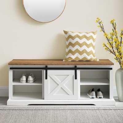Kemble Shoe Storage Bench - Wayfair