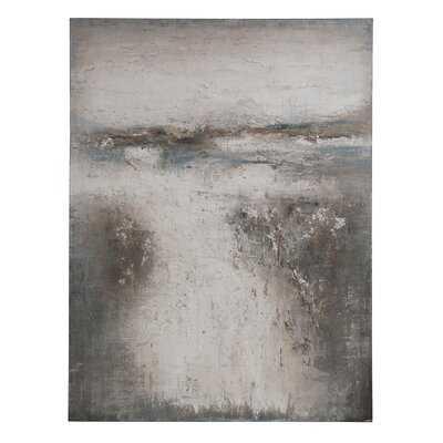 'Abstract' - Unframed Painting Print on Canvas - Wayfair