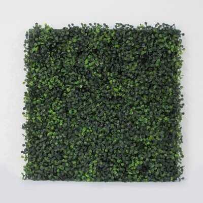 Artificial Boxwood Tile - Wayfair