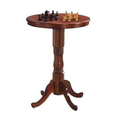 "42"" Bistro Vintage Pub Bar Round Chess Table - Wayfair"