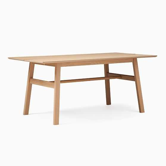 Jodie Rectangle Dining Table, Oak - West Elm