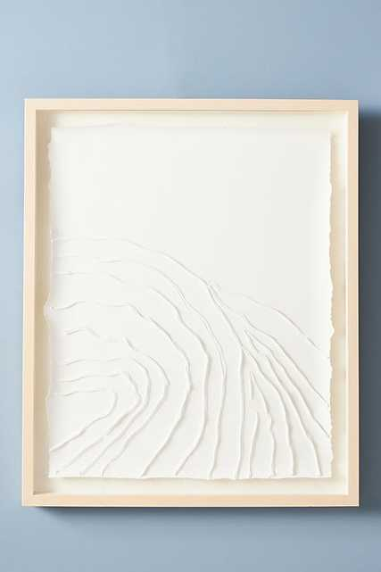 Texture Movement Wall Art By Anthropologie in Beige - Anthropologie