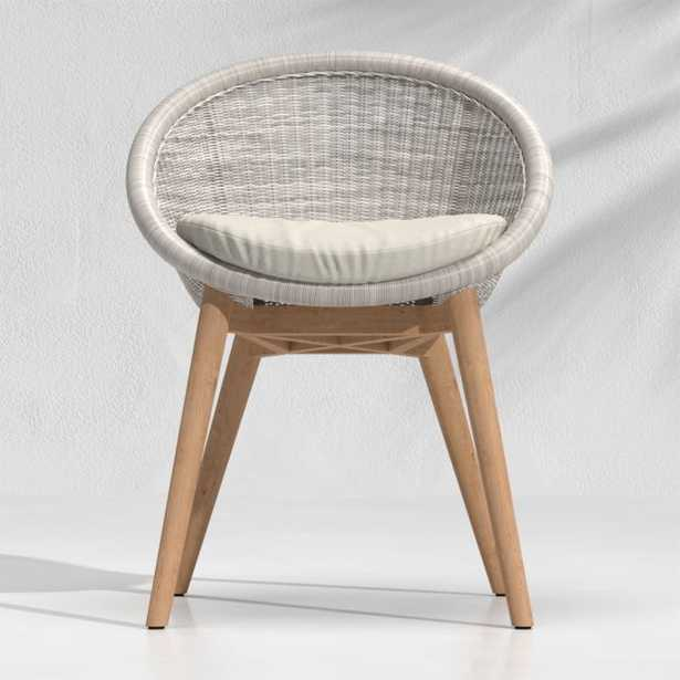 Loon Grey Outdoor Dining Chair - Crate and Barrel