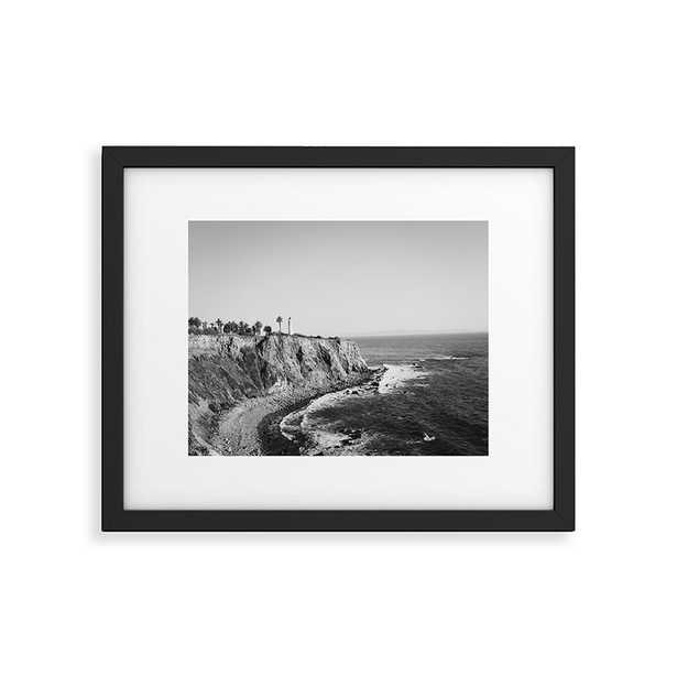 "Palos Verdes by Ann Hudec - Modern Framed Art Print Black 24"" x 36"" - Cove Goods"