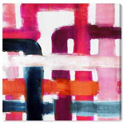 Abstract Burnt and Rusted Colorful - Painting Print - Wayfair