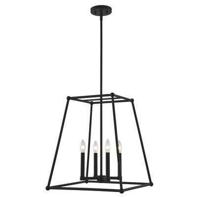 Mher 4 - Light Lantern Square Chandelier - Wayfair