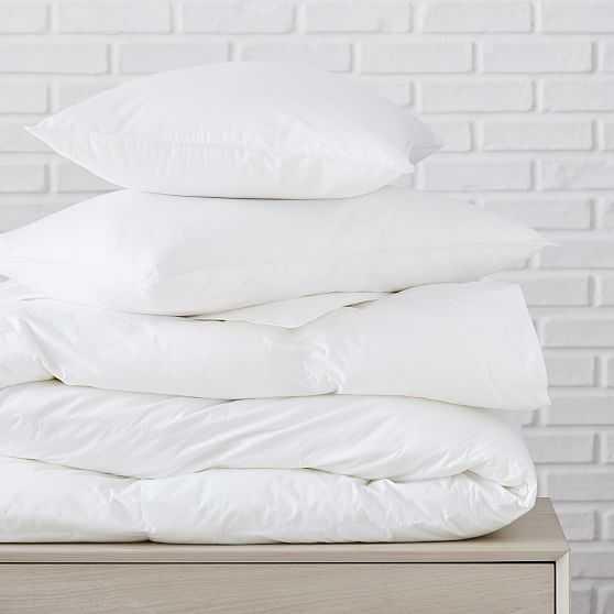 Blended Down Alternative Duvet & Pillow, King Duvet & King Pillows, Extra Warm/Soft - West Elm