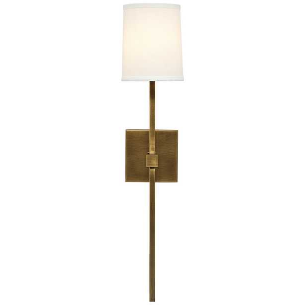 """Jamie Young Minerva 24"""" High Antique Brass Metal Wall Sconce - Style # 94V13 - Lamps Plus"""