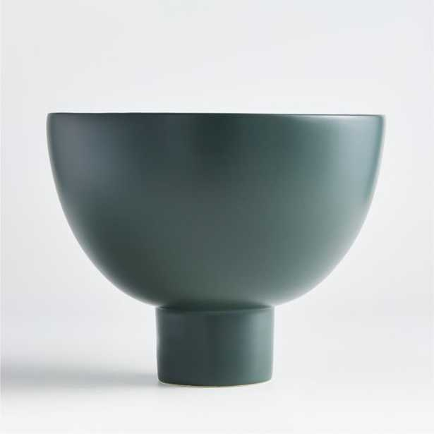 Dark Green Ingrid Bowl - Crate and Barrel