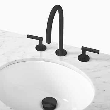 Adan Bathroom Faucet, Dark Bronze - West Elm