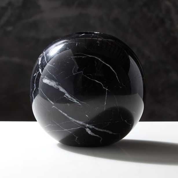 Stick It Anywhere Black Marble Vase - CB2