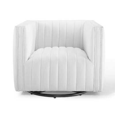 """Burlbaw Tufted Swivel 18"""" Armchair (12/4 back in stock) - Wayfair"""