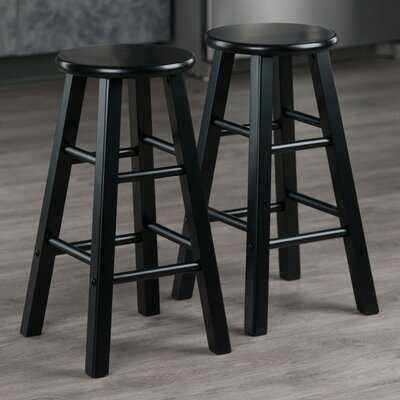 Petronille Solid Wood Counter and Bar Stool - Wayfair